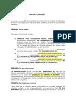 Contrato Privado de Garantia