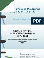 Norma Oficial Mexicana NOM 013 STPS 1993
