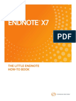Little EndNote How-To Book