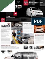 2016 Nissan NV200 Compact Cargo Brochure