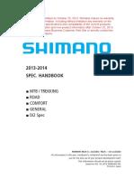 Shimano Specs Handbook
