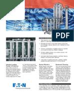 Eaton Tubular Backwashing AFC AFR & F-Series Filters