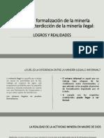 Política de Formalización de La Minería Informal e Ilegal FINAL PDF