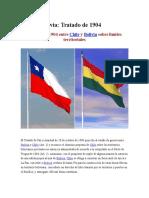 Chile y Bolivia