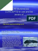 maori business concepts