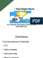 Ideas That Might Work - Joyce Millard Hoie