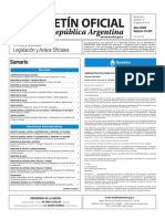 Boletín Oficial de la República Argentina, Número 33.437. 10 de agosto de 2016