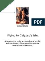 Flying to Calypso's Isle
