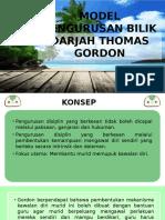 Model Pengurusan Bilik Darjah Thomas Gordon