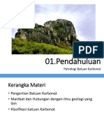 Petrologi Batuan Karbonat
