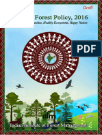 1.Final Draft National Forest Policy 2016