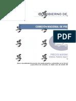 Listado Con Valor Unitario de-medicamentos Regulados Junio-2016 Colombia