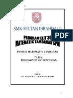 Trigonometric Functions-program Elit 30