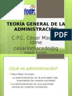 TEORÍA GENERAL DE LA ADMINISTRACIÓN - UNITEK (1).ppt
