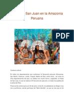 Fiesta de San Juan en la Amazonía Peruana.docx