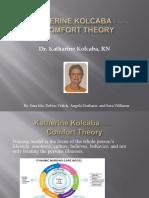 Katherine Kolcaba Comfort Theory Presentation