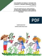 Implementacion de Una Huerta Escolar Como Estrategia Lúdico Pedagógica Para Cuidar y Preservar El Medio Ambiente en El Hogar Infantil Virginia Perdomo Del Municipio de Aipe Huila