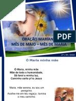 Oração Mariana com Cruz Missionária