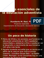 Rasi - Factores Esenciales de La Educación Adventista - Abril 2015