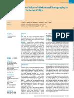 Positive Predictive Value of Abdominal Sonography in.pdf