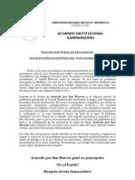 FRAUDE ELECTORAL EN SAN MARCOS