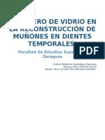 IONÓMERO DE VIDRIO EN DIENTES TEMPORALES