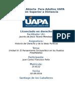 Tarea IV Historia Del Derecho