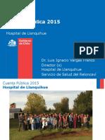 Cuenta Pública Hospital Llanquihue 2015