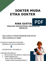 Etika Dokter Muda, Etika Dokter