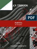 Partita - Juan Trigos