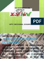 código  Sustantivo Del Trabajo art. 135-139
