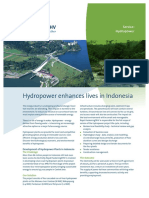Hydropower Enhances Lives in Indonesia