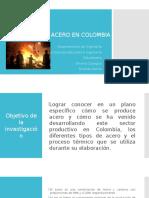 Producción de Acero en Colombia