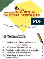 OPERATORIA EN DENTICIÓN TEMPORAL