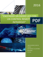Encender Un Diodo Led Con Un Control Remoto - Proyecto Luna Villarreal Sharon