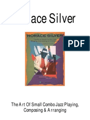 Horace Silver - The Art of Small Combo Jazz Playing
