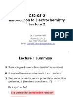 Electrochemistry Lecture2