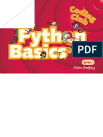 Coding Club Level 1 Python Basics