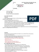 Kế hoạch dạy học VL10