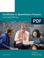 CQF Learning Pathway June 2016