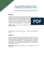 Carcinoma Micropapilar. a Propósito de Un Caso.-2