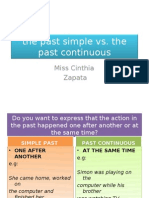 The Past Simple Vs