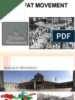 d Khilafa t Movement