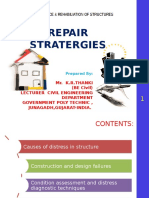 Repair Stratergies of Structurer For Maintainance and Rehabiliation by k.r.thanki
