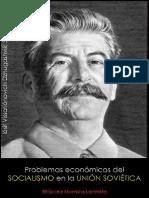 Iósif Vissariónovich Dzhugashvili, Stalin; Problemas económicos del socialismo en la URSS, 1952