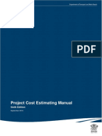 Project Cost Estimating Manual