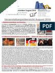 EAK Rundschreiben August