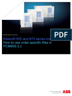 1MRG000522 How to Use Order Specific Files in PCM600 2.x