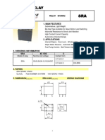 Songle SRA Relay Specification