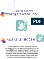 Bare Rods for GMAW Welding of Carbon Steel.ppt